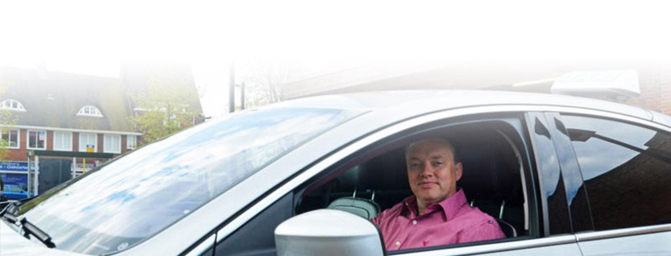 Taxi van Hilversumse Meent